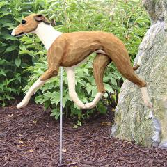 Italian Greyhound Dog Garden Stake