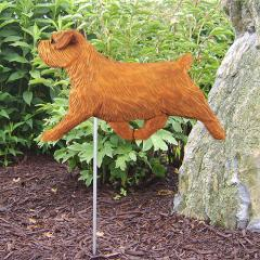Norfolk Terrier Dog Garden Stake
