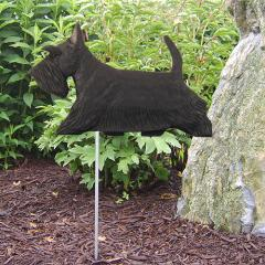 Scottish Terrier Dog Garden Stake