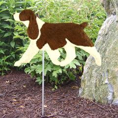 English Springer Spaniel Dog Garden Stake