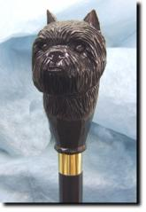 Affenpinscher Dog Breed Walking Stick