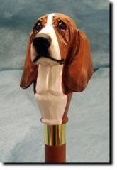 Basset Hound Dog Breed Walking Stick