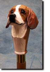 Beagle  Dog Breed Walking Stick