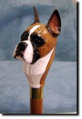 Boxer Dog Breed Walking Stick