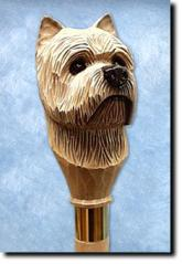 Cairn Terrier Dog Breed Walking Stick