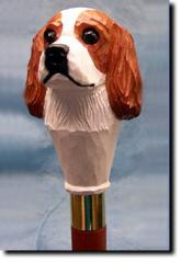 Cavalier King Charles Spaniel Dog Breed Walking Stick