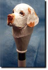 Clumber Spaniel Dog Breed Walking Stick