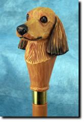 Dachshund (Long Hair)Dog Breed Walking Stick
