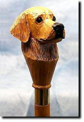 Golden Retriever Dog Breed Walking Stick