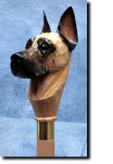 Great Dane Dog Breed Walking Stick