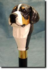 Greater Swiss Mountain Dog Dog Breed Walking Stick