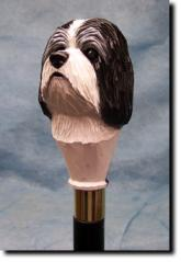 Havanese Dog Breed Walking Stick