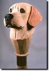 Labrador Retriever Dog Breed Walking Stick