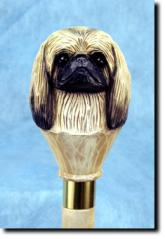 Pekingese Dog Breed Walking Stick