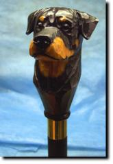 Rottweiler Dog Breed Walking Stick
