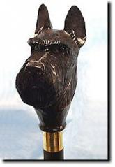 Scottish Terrier Dog Breed Walking Stick