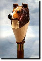 Shetland Sheepdog Dog Breed Walking Stick