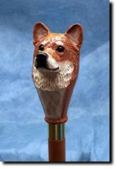 Shiba Inu Dog Breed Walking Stick