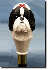 Shih Tzu Dog Breed Walking Stick