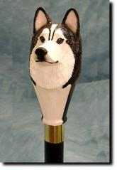 Siberian Husky Dog Breed Walking Stick