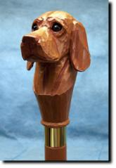 Vizsla Dog Breed Walking Stick