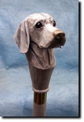 Weimaraner Dog Breed Walking Stick