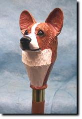 Welsh Corgi (Pembroke) Dog Breed Walking Stick