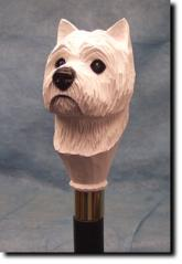 West Highland Terrier Dog Breed Walking Stick