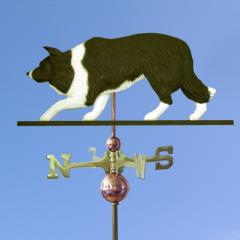 Border Collie Dog Weathervane