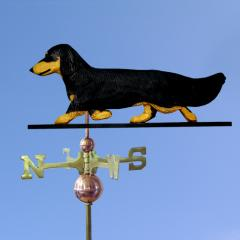 Dachshund, Long Hair Dog Weathervane