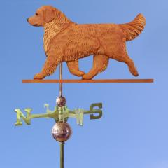 Golden Retriever Dog Weathervane