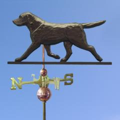 Labrador Retriever Dog Weathervane