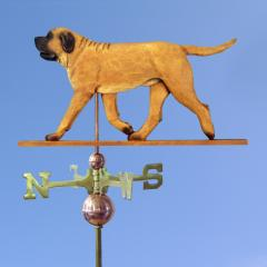 Mastiff Dog Weathervane