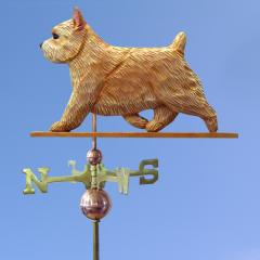 Norwich Terrier Dog Weathervane