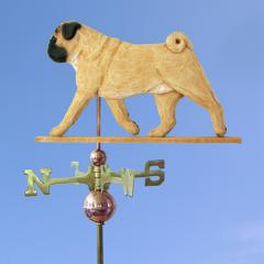 Pug Dog Weathervane