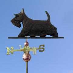 Scottish Terrier Dog Weathervane