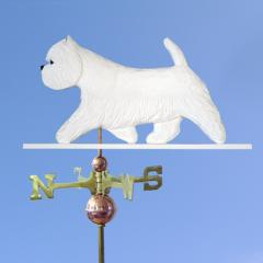 West Highland Terrier Dog Weathervane