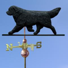 Newfoundland Dog Weathervane
