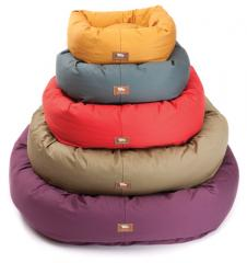Organic Cotton Bumper Dog Beds