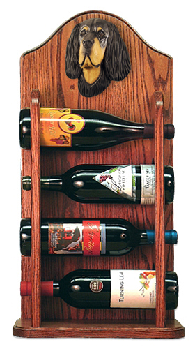 Dog Breed Wine Racks