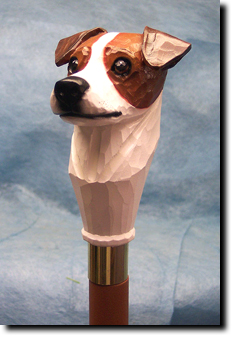 Jack Russell Terrier Dog Walking Stick Hiking Staff