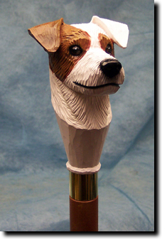 Jack Russell Terrier Rough Dog Walking Stick Hiking Staff