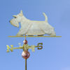 Scottish Terrier Dog Weathervane shown in Wheaten